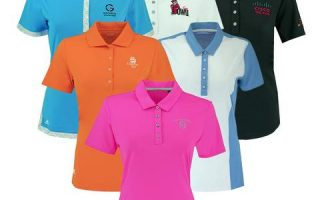 2-Pack adidas Women's Logo Overrun Polo Shirt Assorted Colors – $15