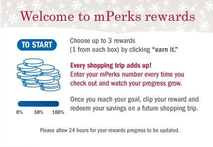 New Meijer mPerks Rewards Program