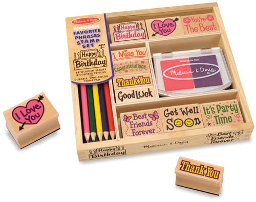 JCPenny.com: Melissa & Doug Favorite Phrases Stamp Set $9.99