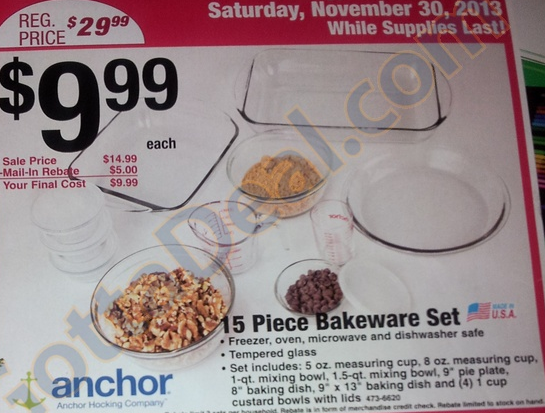 menards bakeware 2013 Menards Black Friday Ad