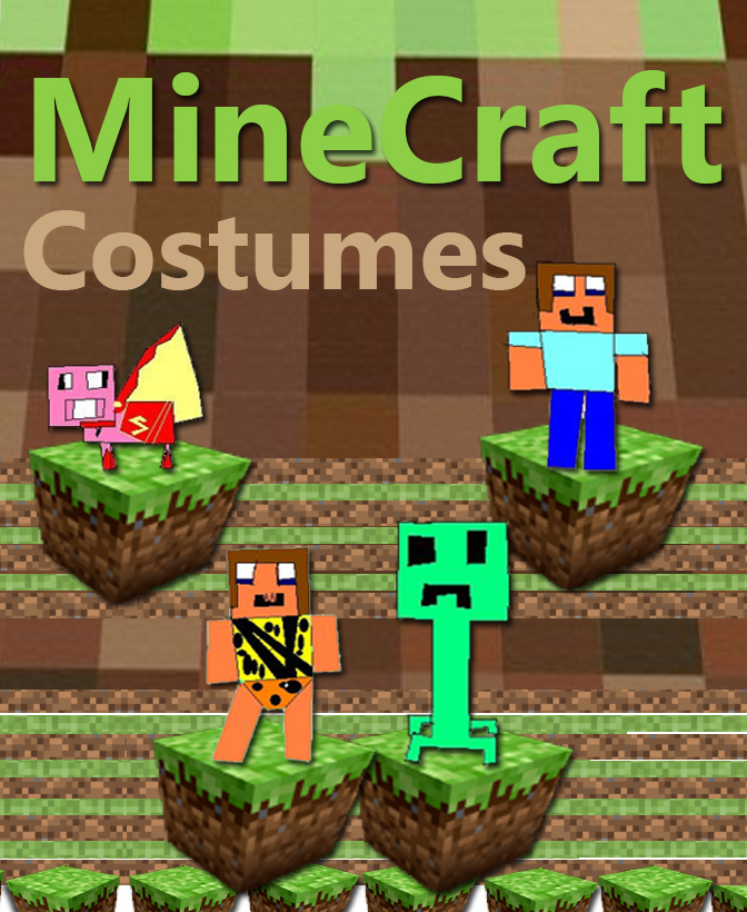 minecraft-costumes & 50 DIY Halloween Costume Ideas - BargainBriana