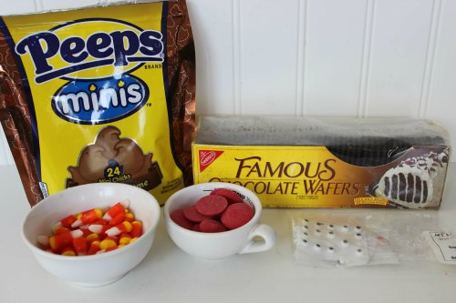 mini Peeps turkeys ingredients