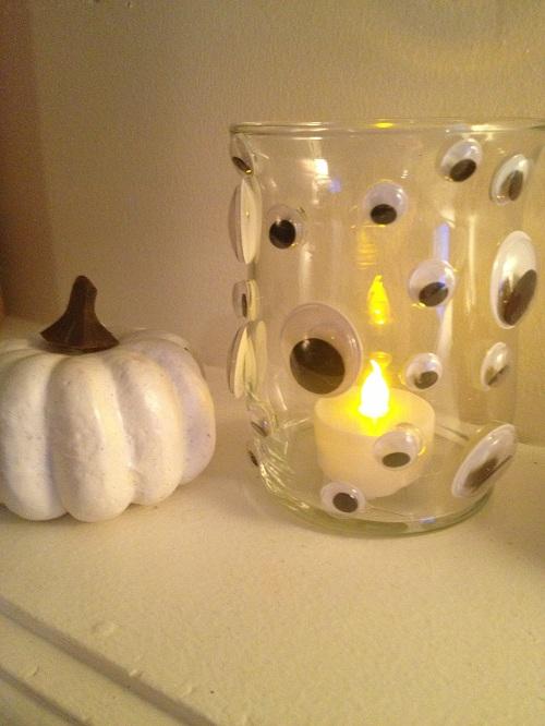 monster eye votive holder diy halloween