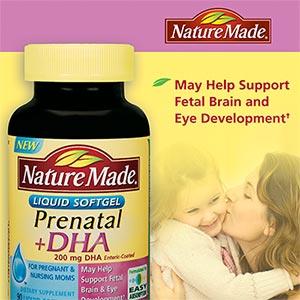Nature Made Prenatal Vitamins With Dha Costco