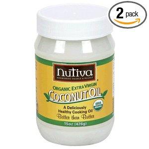 Coconut Oil: Nutiva Organic 2 pk Deal