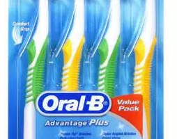 $2/1 Oral-B Adult Manual Toothbrush 4ct Pack = $0.62 per Toothbrush at CVS