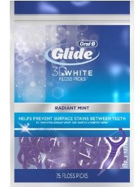 Amazon Deals: Oral-B Glide 3d White Floss Picks Radiant Mint (75ct) $2.34 Shipped