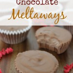 peanut butter chocolate meltaways