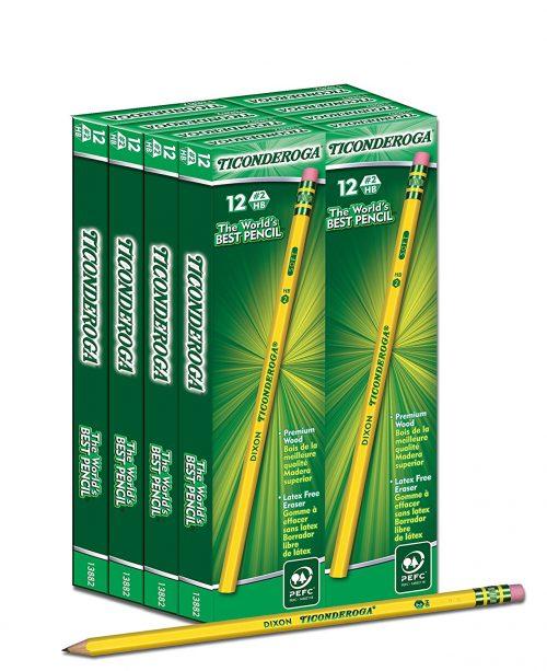 Dixon Ticonderoga #2 Pencils 96 Count – Just $9.96