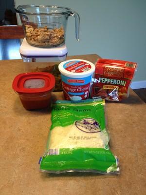pepperoni pasta bake ingredients