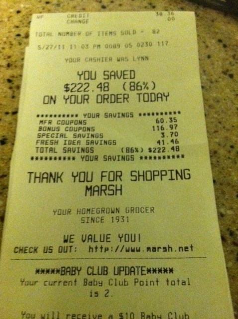 My Marsh Triple Coupons