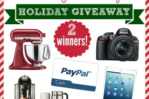 Pick Your Prize Holiday Giveaway (2 Winners!)