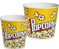 popcorn Bed, Bath, Beyond: Large Plastic Cinema Style Popcorn Bucket $4.99
