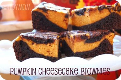 pumpkincheesecakebrownies 50 Pumpkin Recipes to Try