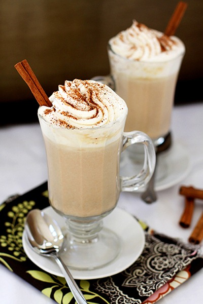 pumpkinwhitehotchocolate 50 Pumpkin Recipes to Try