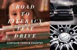 Chrysler Town & Country:  Test Drive 2011 Car + Donate 5 Books