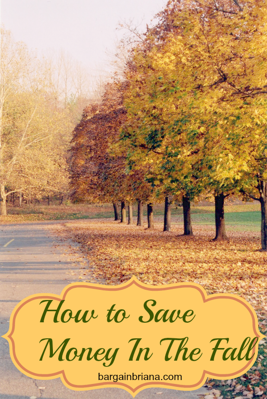 How to save money during the fall. Fall is one of my favorite seasons and it can be very easy to save money during this time. Here's How