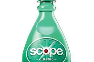 $0.75/1 Scope Mouthwash = $0.24 at CVS