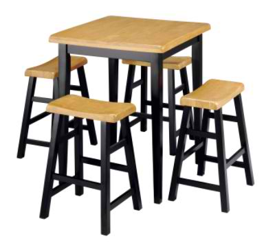 Sears: Saddle 5-Piece Pub Set $139.99