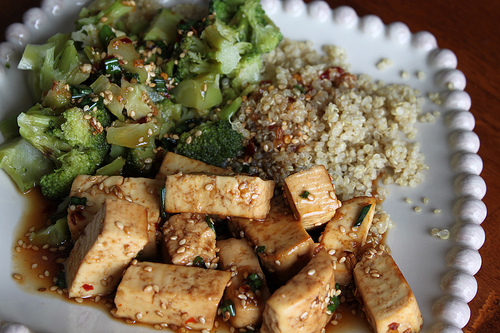 sesame ginger tofu meal Sesame Ginger Tofu Recipe