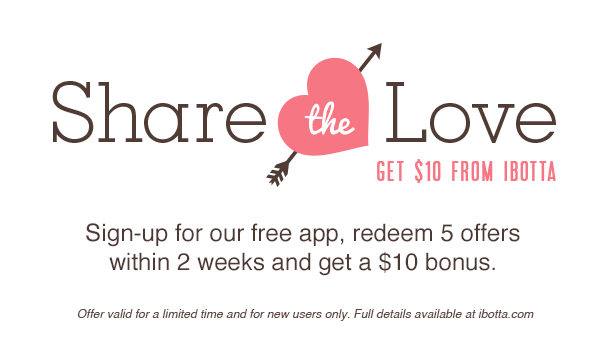 New $10 Bonus Offer for New Ibotta Users!