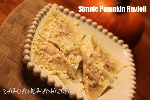 simple pumpkin ravioli Simple Pumpkin Ravioli Recipe