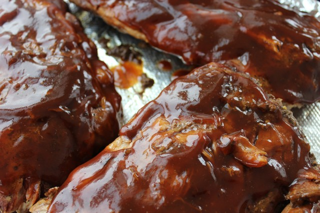 slow cooker Cola Baby Back Ribs
