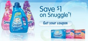 snuggle 300x140 $1/1 Snuggle Fabric Softener Printable Coupon