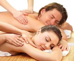Local Readers: Living Social Spirit Soul and Body Wellness- Hour-Long Couples' Massage Lesson, Wine and Cheese $75