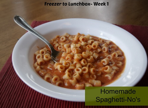 spaghettino1 {Freezer to Lunchbox Series} Spaghetti No's Recipe