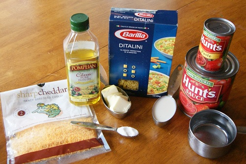 spaghettinos ingredients {Freezer to Lunchbox Series} Spaghetti No's Recipe