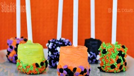 spooky dipped marshmallows halloween Inexpensive Halloween Food and Treat Ideas