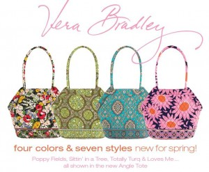 spring 2010 300x247 Vera Bradley: 50% off Loves Me Collection + Free Shipping $100+