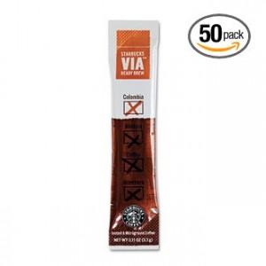starbucks VIA ready brew coffee 300x300 Amazon Coffee Deals: Starbucks VIA Ready Brew, Grove Square K Cups + More