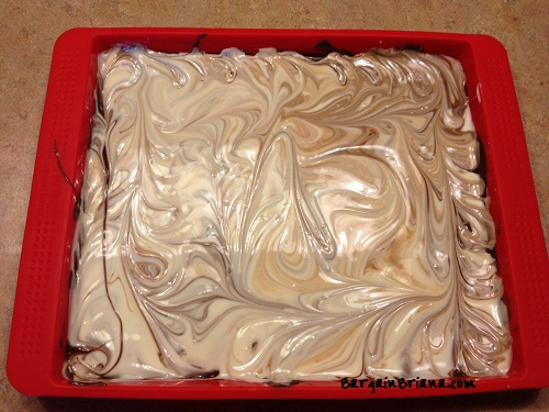 swirled Good Cook Peppermint Chocolate Bark Mold Recipe + Review