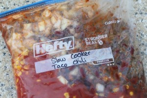 Taco Chili |Freezer to Slow Cooking