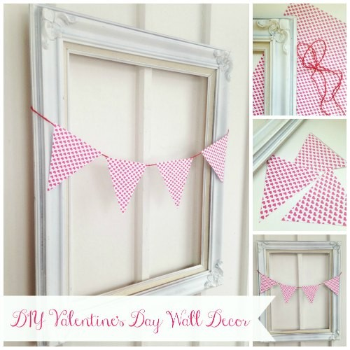 valentines day wall decor idea easy