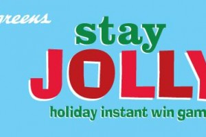 Walgreens Stay Jolly Instant Win Game