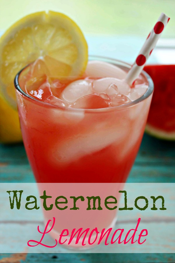 Here's a new  recipe for lemonade that takes this class summertime drink to a whole new level--Watermelon Lemonade! Yum!