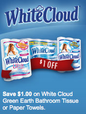Exclusive White Cloud $1/1 Printable Coupon