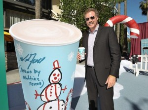 willferrell7 eleven 584x435 300x223 Free Coffee @7 Eleven Black Friday 11/23