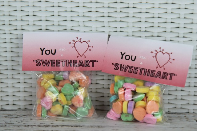 you are a sweetheart valentine's day candy idea